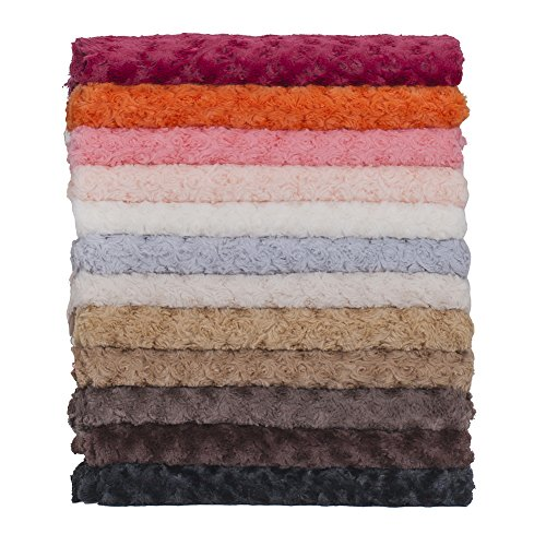 Neotrims-Soft-Pile-Minky-Rose-Fur-Fabric-20-Colours-Baby-Photography-Backdrop-Crafts-and-Apparel-Stunning-new-Earthy-Colours-Swirl-Rose-Pattern-Fur-Luxury-Soft-Handle-Best-Seller