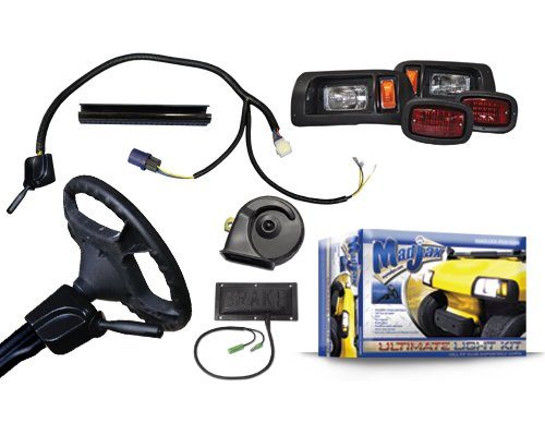 Golf Cart Ultimate Light Kit Will Fit Club Car Ds Golf Carts