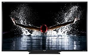 Sharp LC-90LE745U 90-Inch 1080p 240Hz 3D Internet Slim LED HDTV