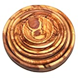 Olive Wood Handcrafted Bowls, Set of 6 sizes ( 2.8 - 7.2 Inches in diameter )