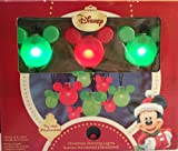 Disney Mickey Mouse String Lights Christmas Light Set 8 Blinking or Steady