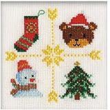 オリムパス製絲 クリスマスミニフレーム(ツリー)