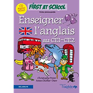 Enseigner l'anglais au CE1/CE2 (CD audio)