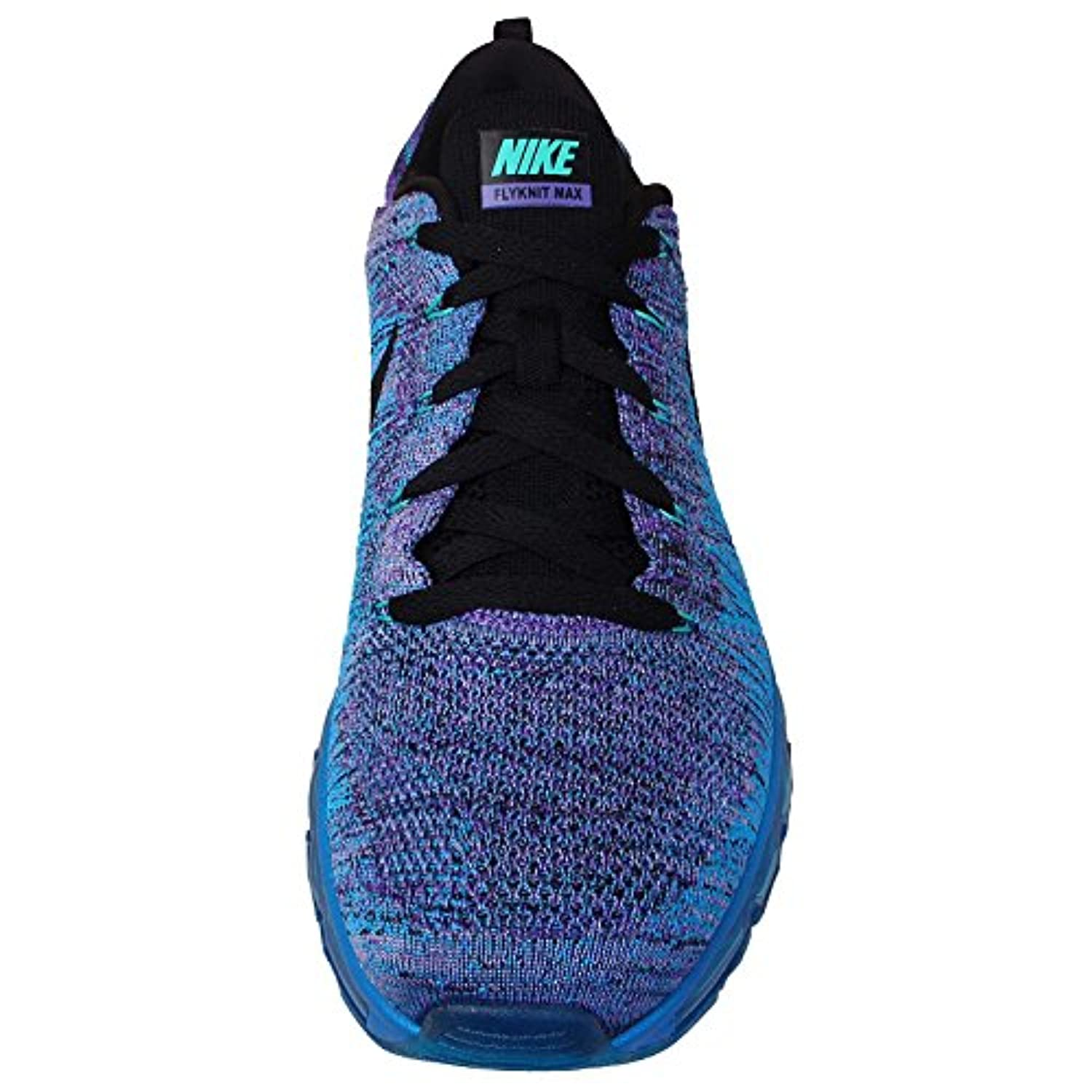 new style c31fc 87500 ... sale nike flyknit air max 620469 500 hyper grape photo blue black mens  running 71e23 c9161
