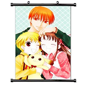 """Fruits Basket Anime Fabric Wall Scroll Poster (16"""" X 24"""") Inches"""