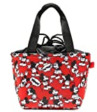 Disney Mickey Mouse Black, White & Red Purse, Lunch Tote, Bag