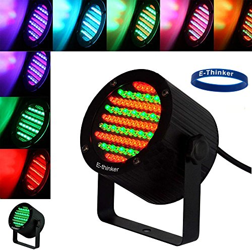 E-Thinker 86 Led Portable Stage Lighting Wash Spot Light For Club, Dj Show, Wedding, Home Party And Christmas