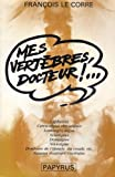 img - for Mes vert bres, docteur- book / textbook / text book