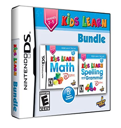 Kids Learn Bundle - Math and Spelling - Nintendo DS