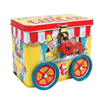 Curious George Tin Bank by Schylling - 1