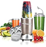 NUTRiBULLET Pro 900 Series Extractor 15 Piece Set, 900 W - Champagne