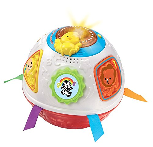 VTech Early Education Light and Move Learning Ball Red 3 Animal Keys Music Toys (Register My Fire Tablet compare prices)