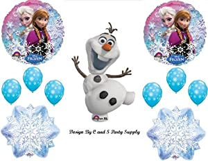 Frozen Olaf #2 Snowman Disney Movie BIRTHDAY PARTY Balloons Decorations Supplies from Anagram