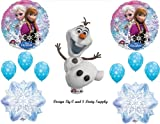 Frozen Olaf #2 Snowman Disney Movie BIRTHDAY PARTY Balloons Decorations Supplies