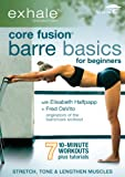 51P2q33r53L. SL160  Exhale: Core Fusion Barre Basics for Beginners