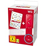 Nintendo Wii Play: Motion Plus Wii Remote - Red