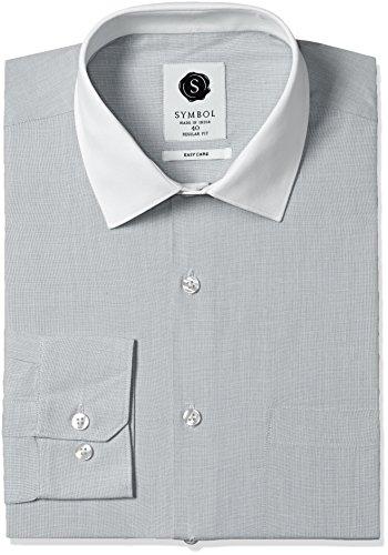 Symbol-Mens-Formal-Fil-a-Fil-Regular-Fit-Bankers-Shirt