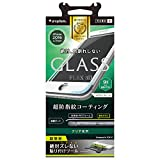 Simplism iPhone 7 [FLEX 3D] 立体成型フレームガラスフィルム ホワイト TR-GLIP164-F3CCWT