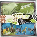 Fox Run 36008 Zoo Animal Cookie Cutter Set, 5-Piece