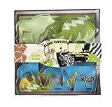 Fox Run 5 Piece Zoo Animal Cookie Cutter Set