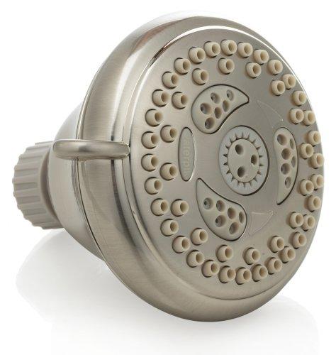 Waterpik NSC 629 Charleston 6-Mode Showerhead, Brushed Nickel