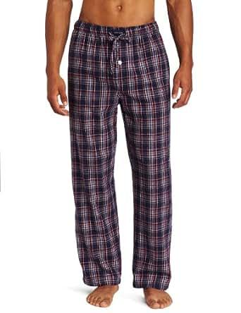 Tommy Hilfiger Men's Flannel Plaid Sleep Pant, Multi, Small