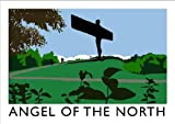 Angel of the North Art Print (A3)