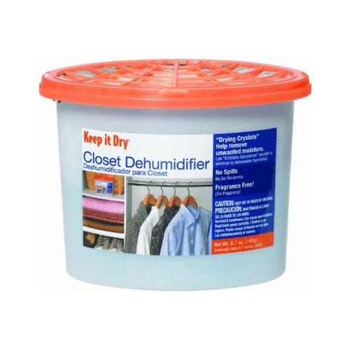 Airboss Closet Dehumidifier,6.7Oz