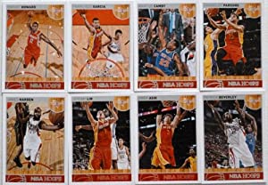 2013-14 Panini Hoops Houston Rockets Team Set 9 Cards in a Protective Case - Isaiah... by Hoops