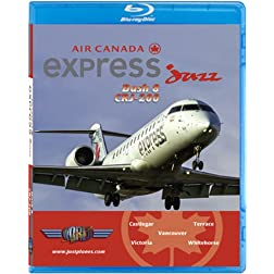 Air Canada Express by Jazz (West Coast) CRJ-200 & Dash 8 [Blu-ray]