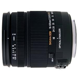 Sigma 18-125mm f/3.8-5.6 AF DC OS HSM Zoom Lens for Sigma Digital SLR Cameras