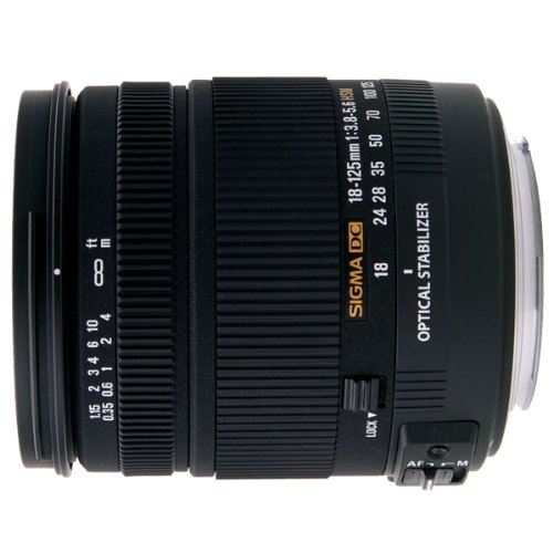Sigma 18-125mm 3,8-5,6 DC HSM Objektiv für Sony