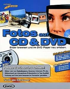 MAGIX Fotos auf CD & DVD