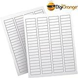 "DigiOrange® Return Address Labels 8000 White Laser & Inkjet Label. 1.75"" x 0.5"""
