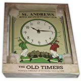 """Large St. Andrews Royal and Ancient Golf Club Tin Wall Clock The Old TimersBy Salamander Graphix        Click for more info        First tagged """"golf club"""" by GDGS"""