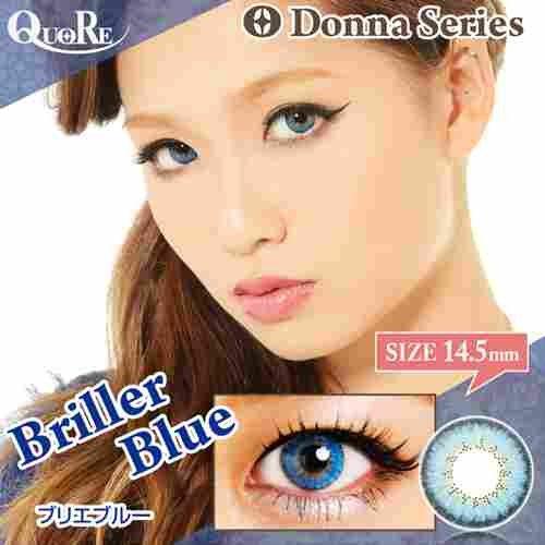 14.5mmDonna BrillerBlue 1箱2枚入 カラコン