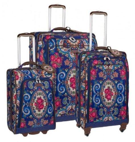 Oilily XL + L + S Trolley Hard Tasche Reisekoffer