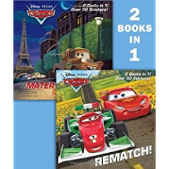 Rematch!/Mater in Paris (Disney/Pixar Cars) (Deluxe Pictureback)