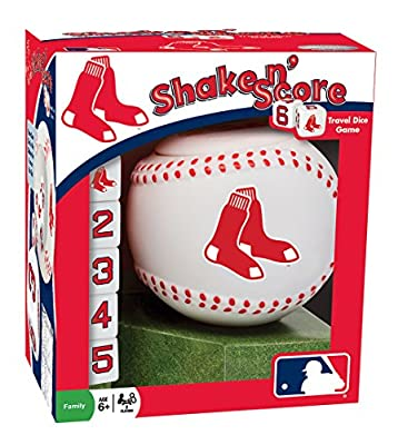 MLB Boston Red Sox Shake 'n Score Dice Game