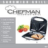 Chefman RJ01 Nonstick Sandwich Maker & Grill