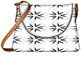 Snoogg Fingers Pattern Designer Womens Carry Around Sling Bags