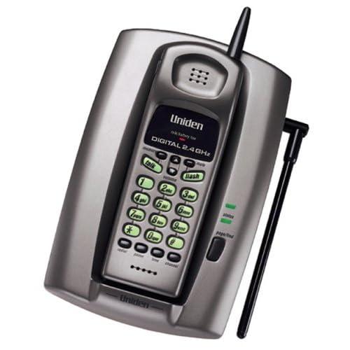 Uniden TRU241 24 GHz Digital Spread Spectrum Cordless Telephone