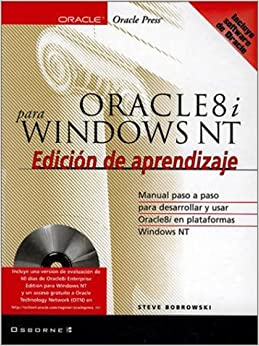 Oracle8i Windows NT Edicion De Aprendizaje (Spanish) Paperback