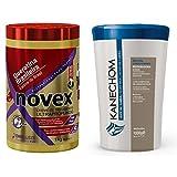 COMBO: Novex Brazilian Keratin 35.3Oz + Kanechom leite de Cabra 1kg