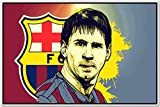 Messi Posters - Lionel Messi - FC Barcelona Sports Poster - Messi Posters for room -Messi Posters Barcelona - Motivational Inspirational football Quotes posters for room - 26