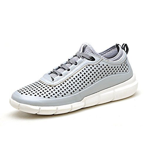 Guciheaven Delicate Men's Mesh Microfiber Hollowed Sneakers