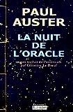 echange, troc Paul Auster - La Nuit de l'oracle
