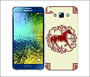 Galaxy Printed 1648 COLOUR BLOCK SUITS BLUE AND WHITE Hard Cover for Samsung GRAND NEO