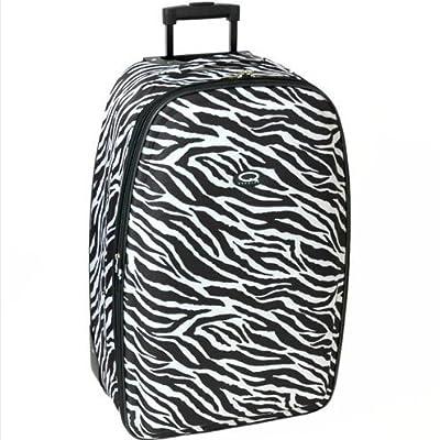 Karabar Super Lightweight Suitcases - 3 Years Warranty! (30 Inch, Zebra Black) from Karabar