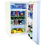 Haier HNSE05 4.6-Cu. Ft. Refrigerator/Freezer, White